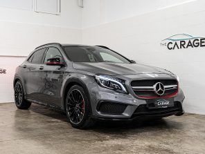 Mercedes-Benz GLA 45 AMG 4Matic Aut. *PERFORMANCE SITZE*PANO* bei unsere Fahrzeuge   The Carage in