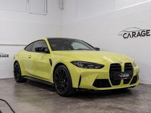 BMW M4 Competition Coupé (G82) *HUD*H/K*CARBON-SCHALENSITZE* bei unsere Fahrzeuge | The Carage in