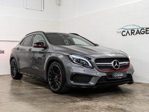 Mercedes-Benz GLA 45 AMG 4Matic Aut. *RESERVIERT*BESTPREIS*PERFORMANCE SITZE*PANO*TOP PREIS* bei unsere Fahrzeuge | The Carage in