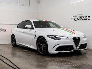 Alfa Romeo Giulia Quadrifoglio 2,9T V6 510 AT RWD *ÖSTERREICH BESTPREIS* bei unsere Fahrzeuge | The Carage in